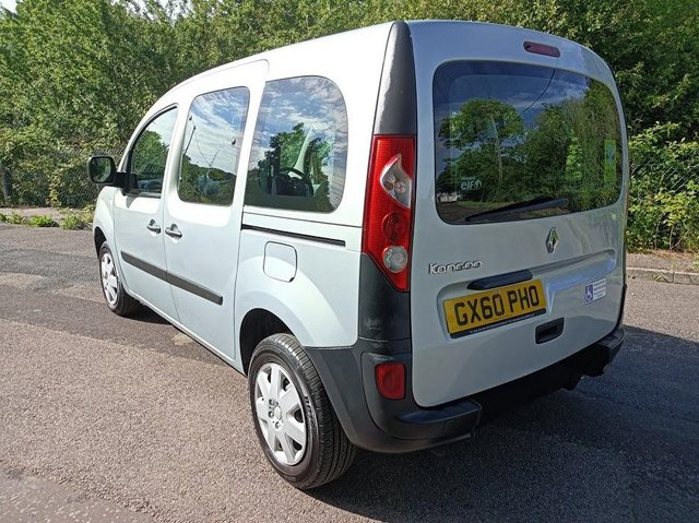 Image 5 of Wheelchair Access Automatic Petrol Mobility Renault Kangoo