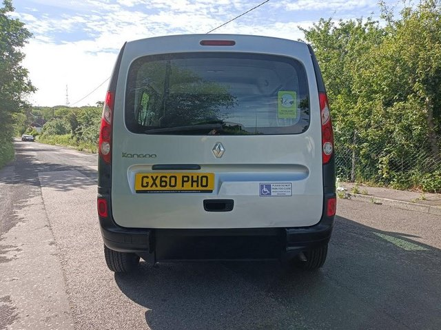 Image 7 of Wheelchair Access Automatic Petrol Mobility Renault Kangoo