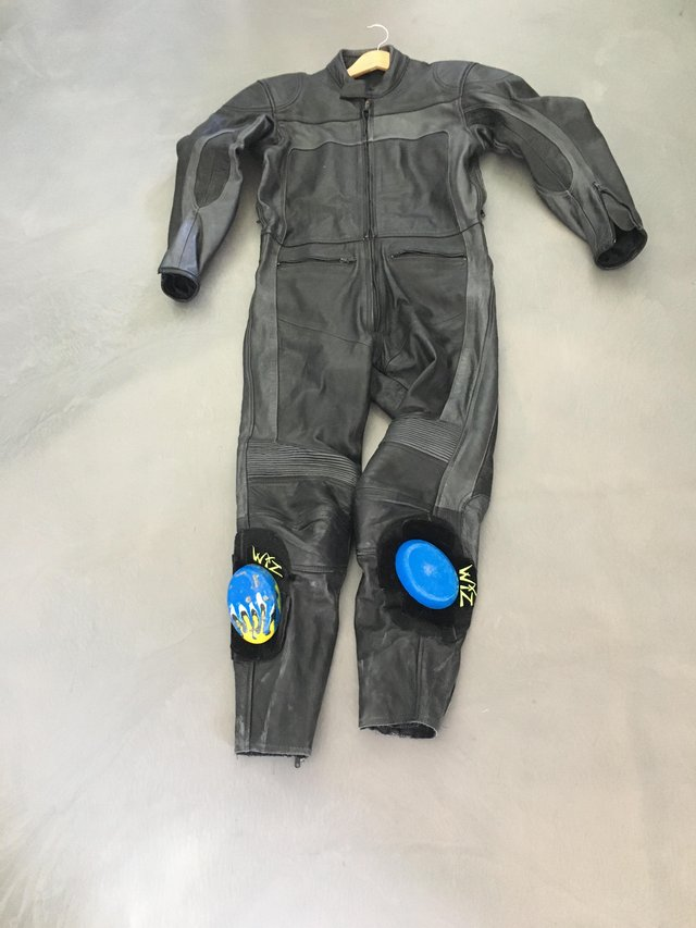 Image 3 of Motorcycle leathers - one piece.
