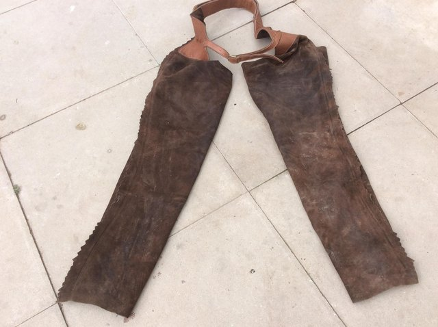 Image 3 of Full Length Leather Chaps