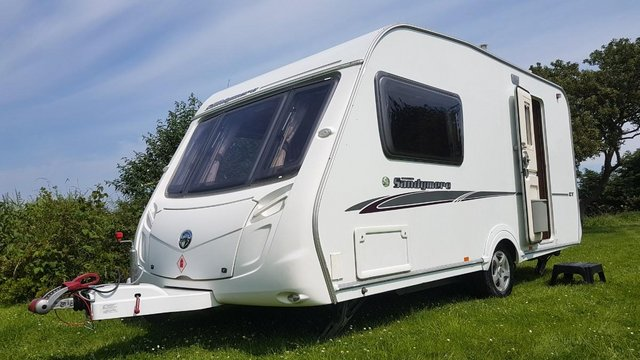 Preview of the first image of Swift Sandymere GT 2 Berth Touring Caravan Inc Extras.