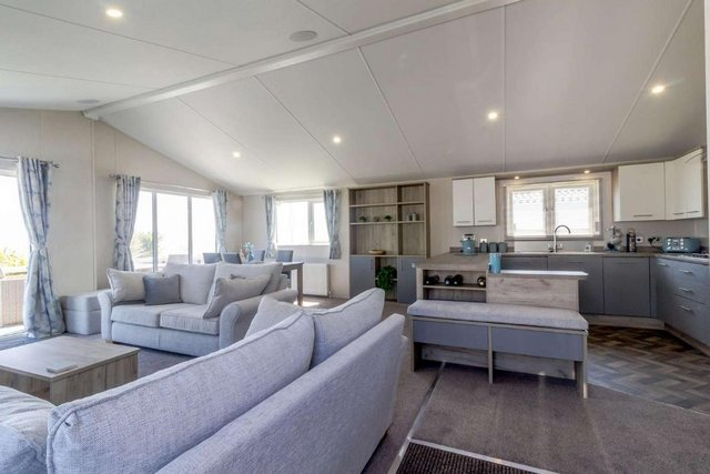 Image 2 of 6 berth lodge with full sea views and decking 68032CR