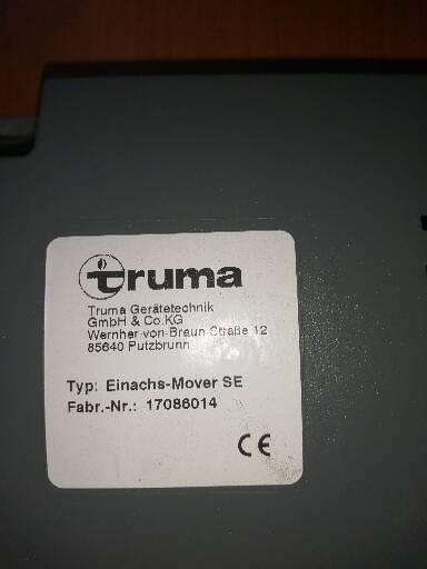 Preview of the first image of Truma se motormover control unit.