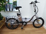 Folding Electric Bicycle with battery and charger - £200 ono