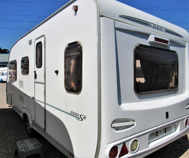 Image 2 of ABBEY FREESTYLE 500 2005 *MOTOR MOVER* 5 BERTH CARAVAN