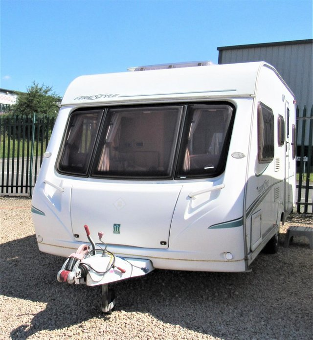 Preview of the first image of ABBEY FREESTYLE 500 2005 *MOTOR MOVER* 5 BERTH CARAVAN.