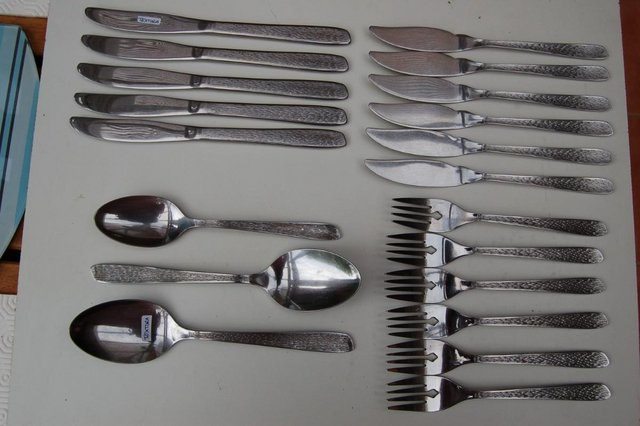 Image 7 of Oneida Cherish, Olympia, Textura, Danish Fling etc Cutlery