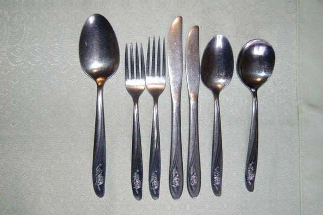 Image 17 of Oneida Cherish, Olympia, Textura, Danish Fling etc Cutlery