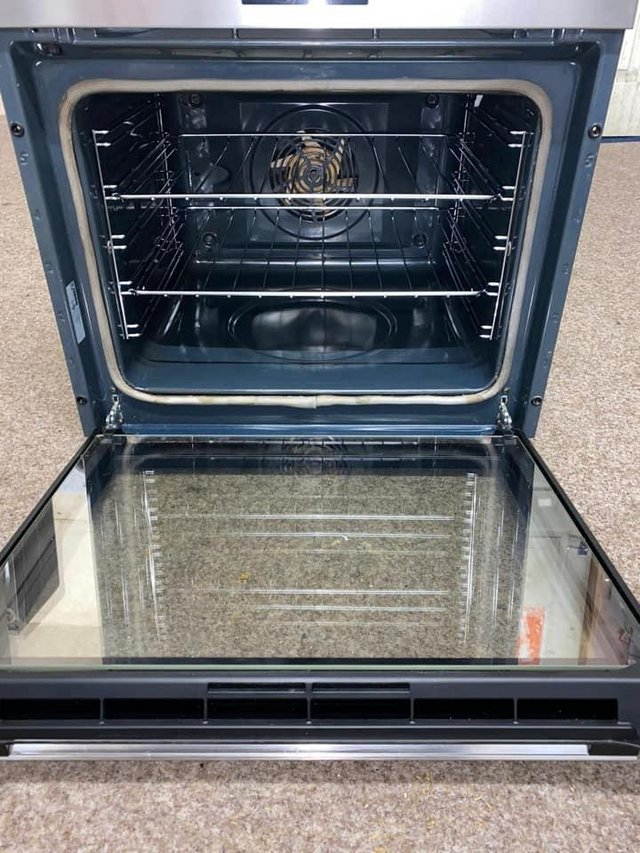 Preview of the first image of zanussi electric built in single oven.