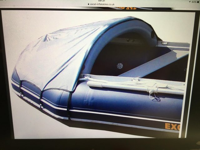 Image 2 of NEW EXCEL VANGUARD XHD 335 inflatable boat with extras.