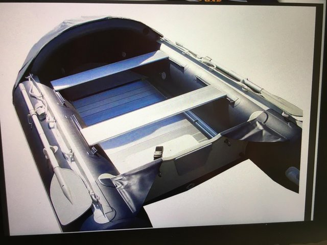 Image 3 of NEW EXCEL VANGUARD XHD 335 inflatable boat with extras.