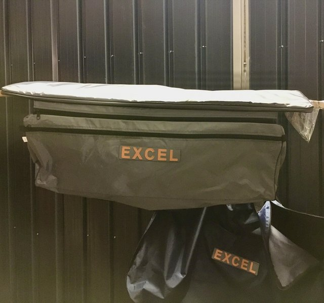 Image 4 of NEW EXCEL VANGUARD XHD 335 inflatable boat with extras.