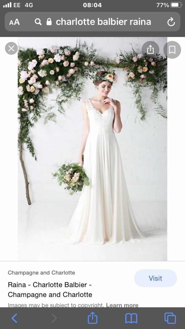 Image 2 of Wedding gown by Charlotte Balbier Raina