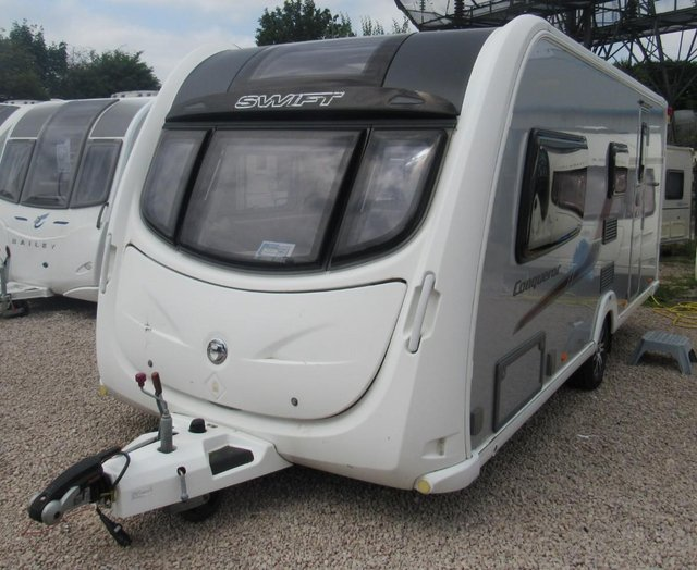 Preview of the first image of SWIFT CONQUEROR 530, 2012 4B CARAVAN **REDUCED...WAS £12,950.