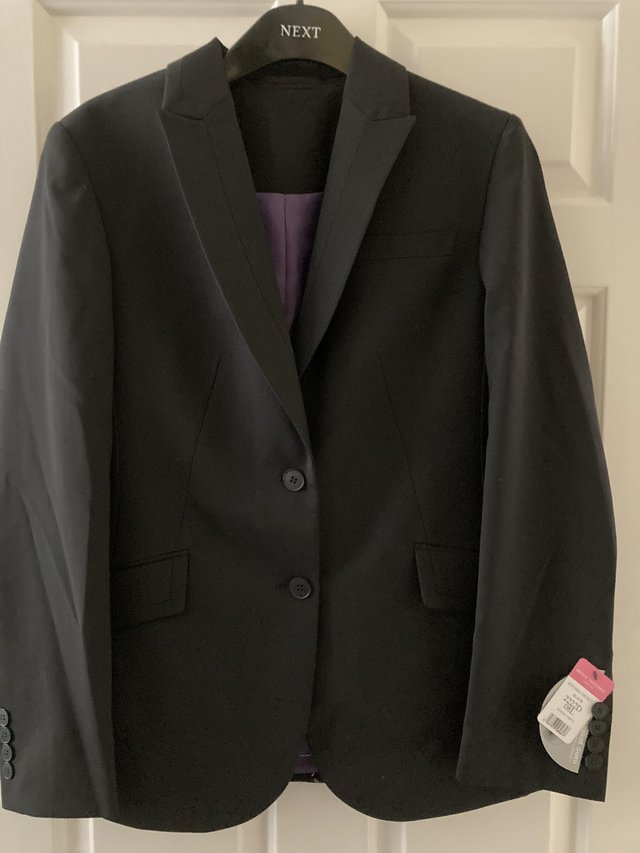 Preview of the first image of LADIES NEW BLACK BROOK TAVERNER JACKET SIZE 8L.