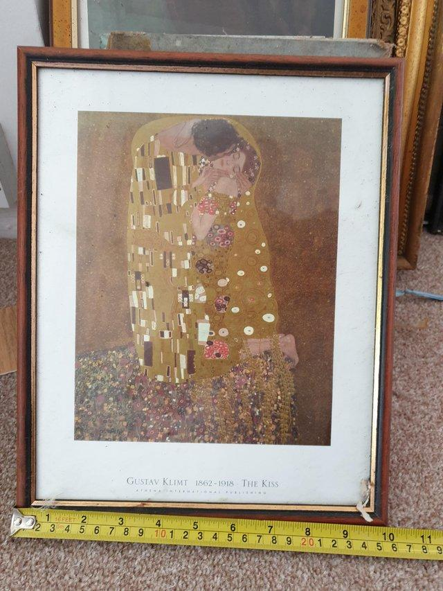 Preview of the first image of 3 odd pictures dickens and a klimt.