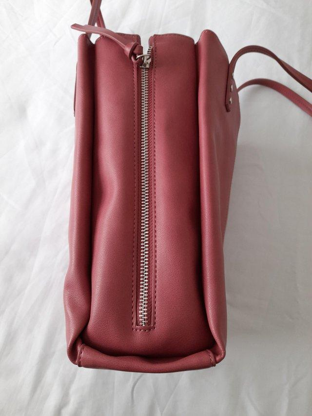 Image 3 of M&S Collection Large Pink Handbag