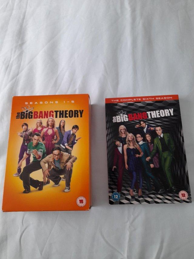 Preview of the first image of The Big Bang Theory DVDs Series 1 - 6.