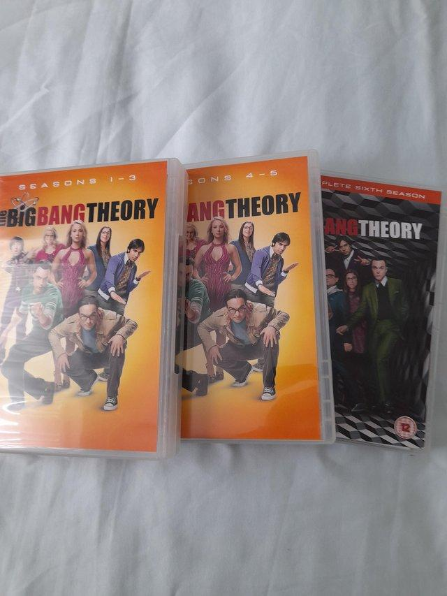 Image 2 of The Big Bang Theory DVDs Series 1 - 6