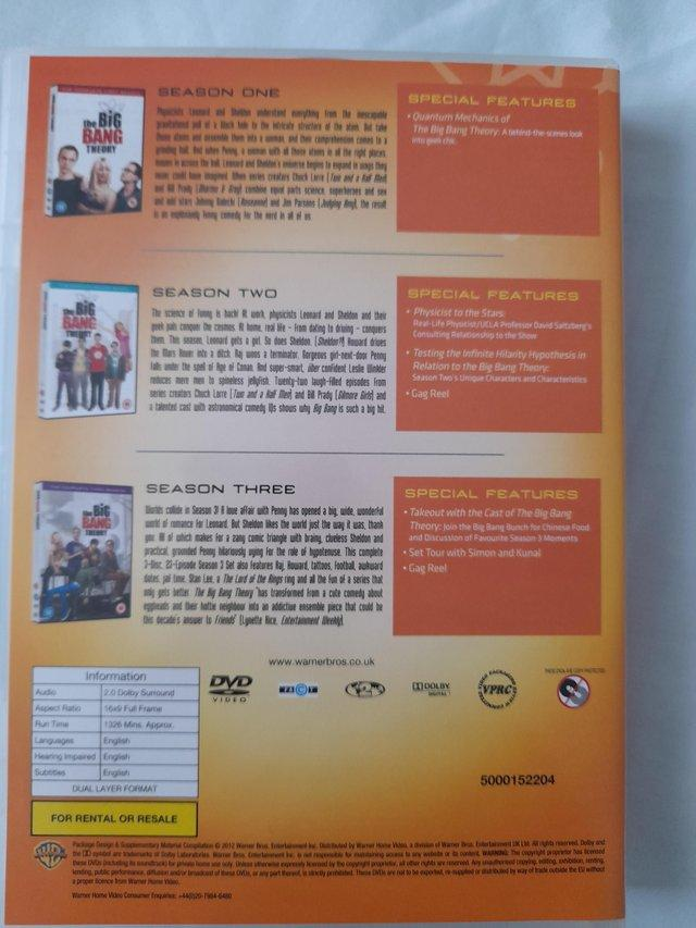 Image 3 of The Big Bang Theory DVDs Series 1 - 6