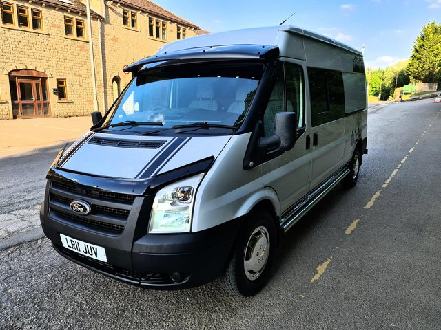 Preview of the first image of 2011 FORD TRANSIT LWB 2.4 DIESEL CAMPERVAN.