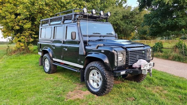 Preview of the first image of Land Rover Defender 110 XS 2.4 TDCi County Station Wagon.