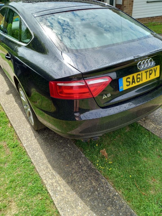 Image 2 of Audi A5 BLACK SPORTSBACK FOR SALE!!!!! FULL SERVICE HISTORY