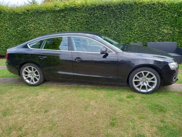 Preview of the first image of Audi A5 BLACK SPORTSBACK FOR SALE!!!!! FULL SERVICE HISTORY.