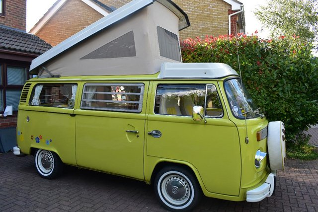 Preview of the first image of 1974 Volkswagen T2 Westfalia late baywindow tax exempt.