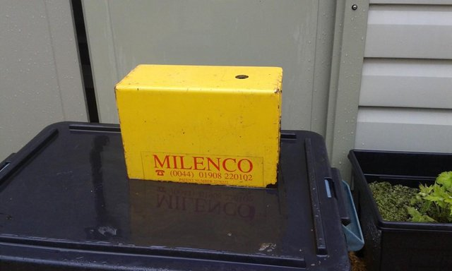 Preview of the first image of Milenco heavy duty hitch lock.