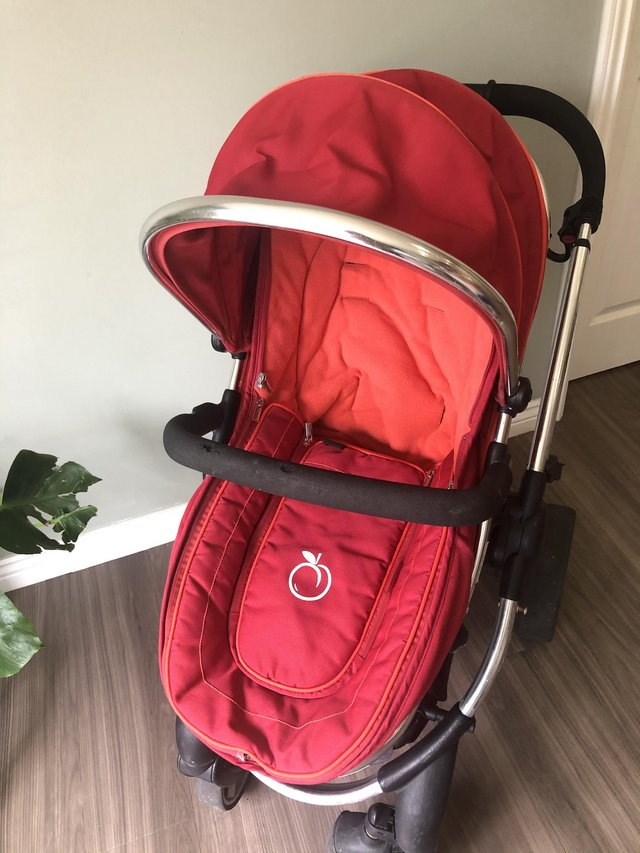 Preview of the first image of ICandy Peach Double/Single Pushchair Buggy with Accessories.