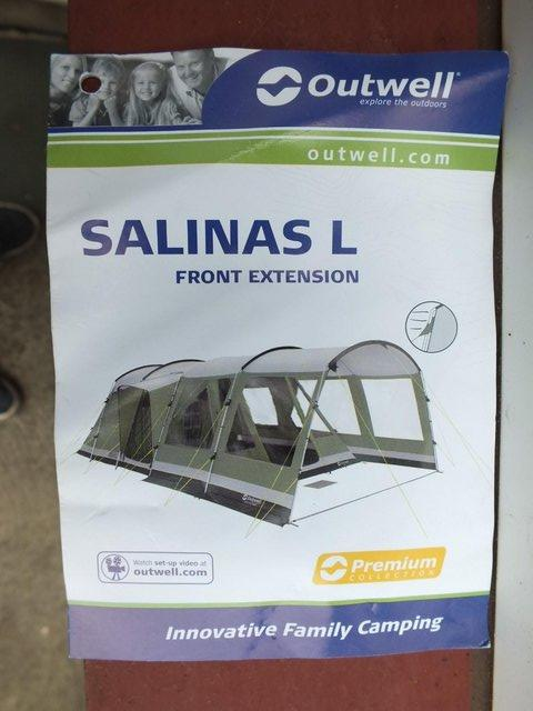 Preview of the first image of EXTENSION FOR OUTWELL SALINAS L FAMILY TENT.