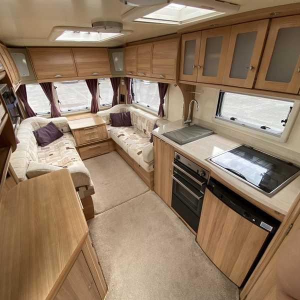 Preview of the first image of Bailey unicorn seville touring Caravan.