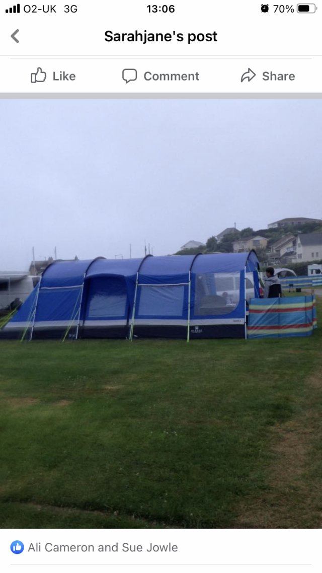 Image 2 of Oasis 6 man tent with Canopy also extras