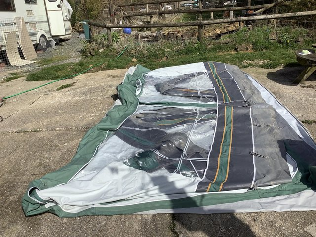 Image 9 of Caravan awning Dorema Special size 12 (price reduced)