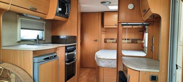 Image 5 of 2009 Swift Freestyle 620, 4 Berth Fixed Bed, Motor Movers