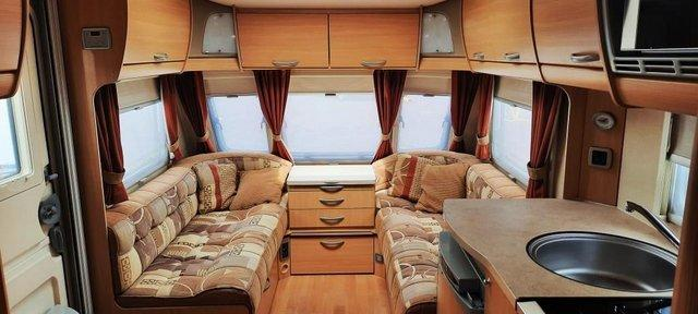 Image 8 of 2009 Swift Freestyle 620, 4 Berth Fixed Bed, Motor Movers