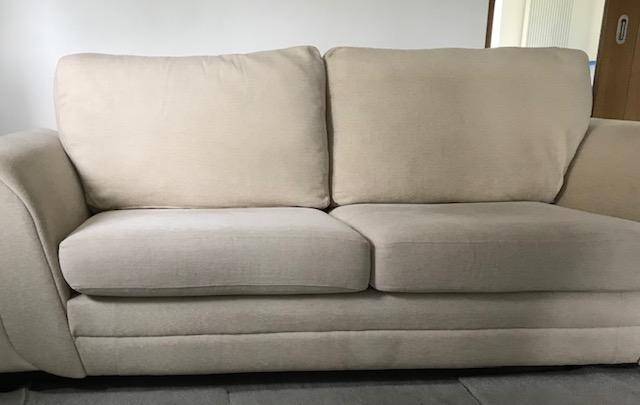 Image 3 of 3 Seated Sofa with foot stool in excellent condition