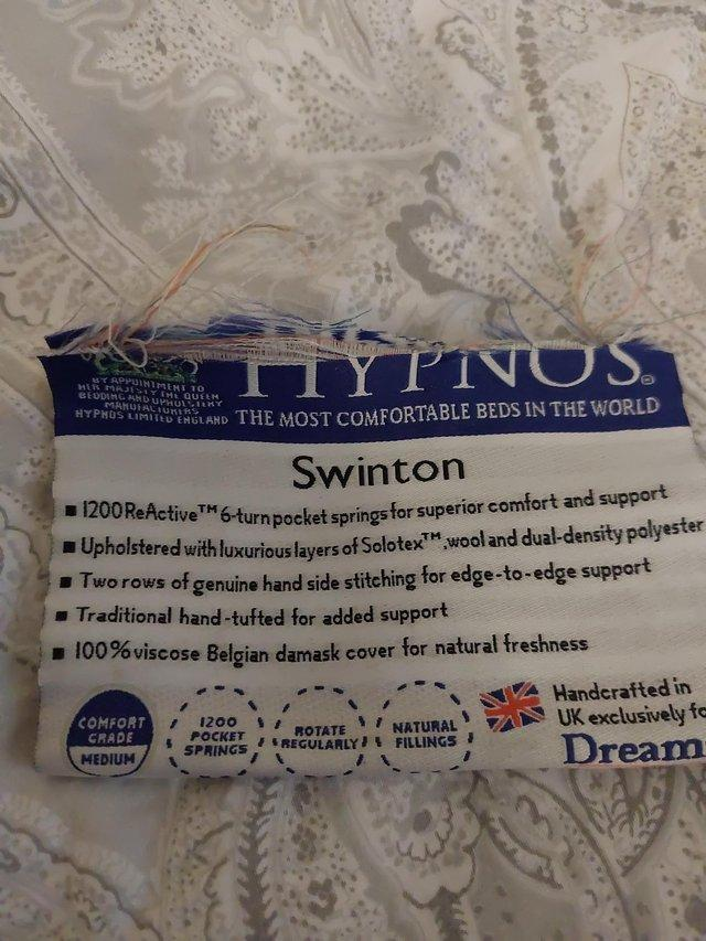 Hypnos mattress king size   the most comfortable bed ...