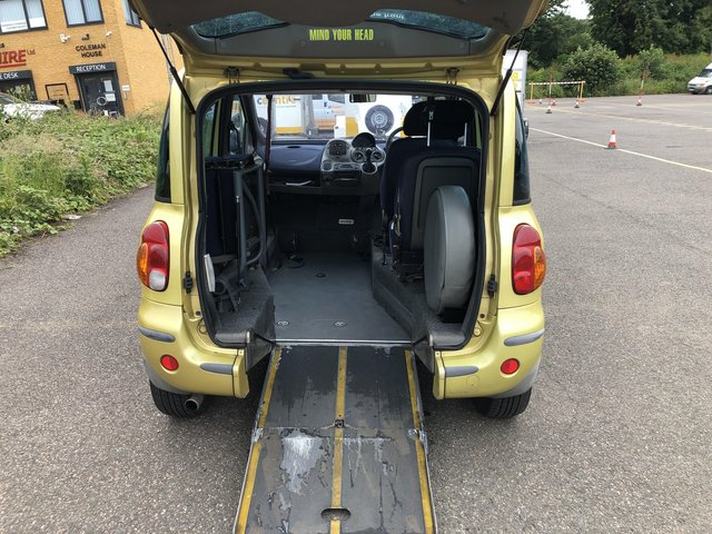 Image 3 of Wheelchair Accessible Fiat Multipla