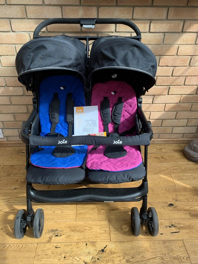Image 3 of Joie Double Pushchair with raincover