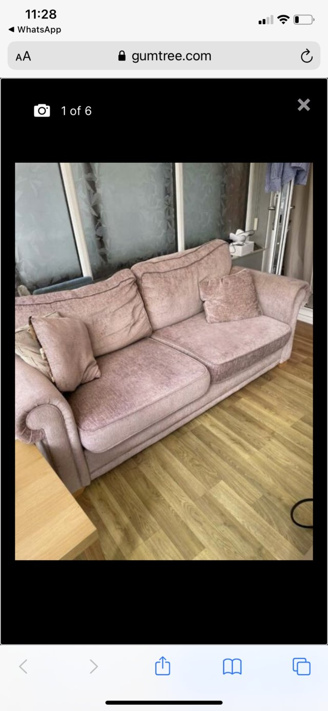 Image 3 of Used DFS - 3 Seater sofa - FREE