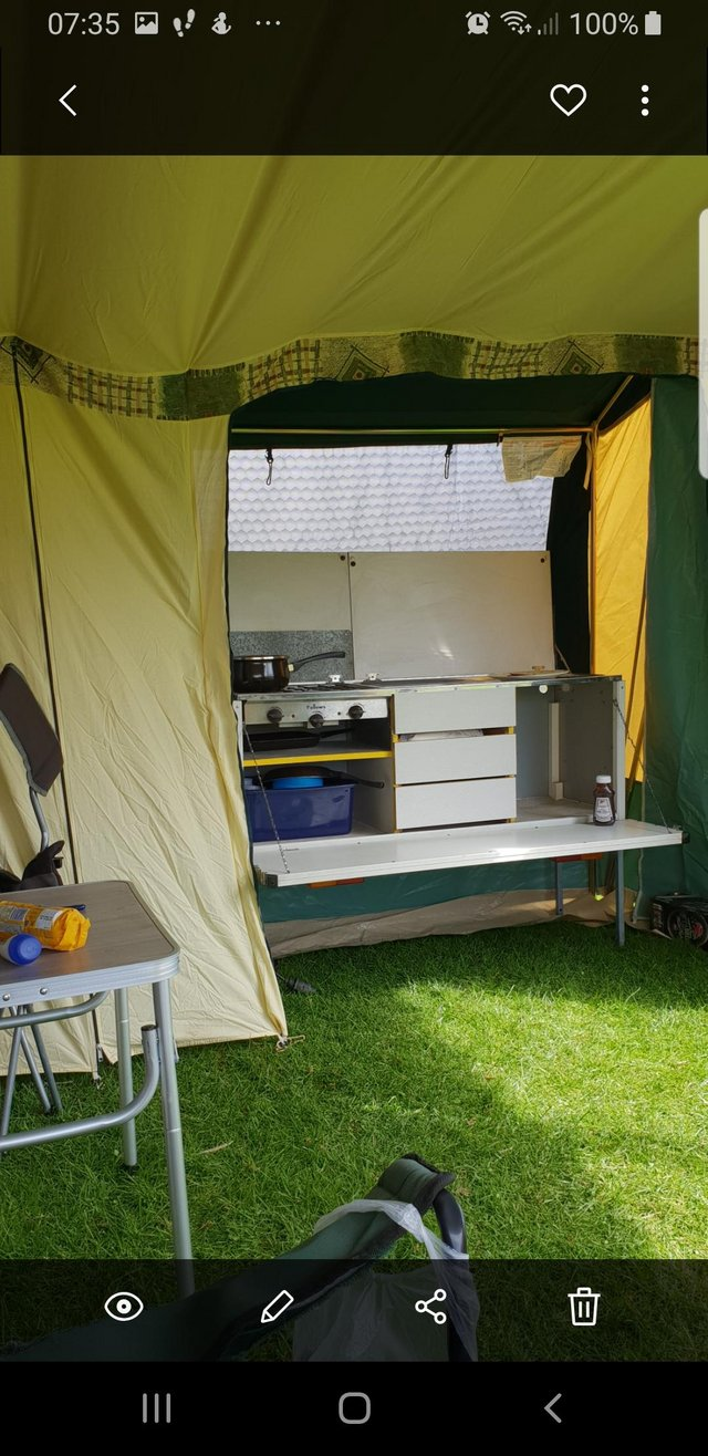 Preview of the first image of Conway trailer tent x everything you need to just hook up an.