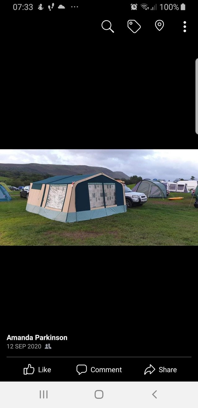 Image 2 of Conway trailer tent x everything you need to just hook up an