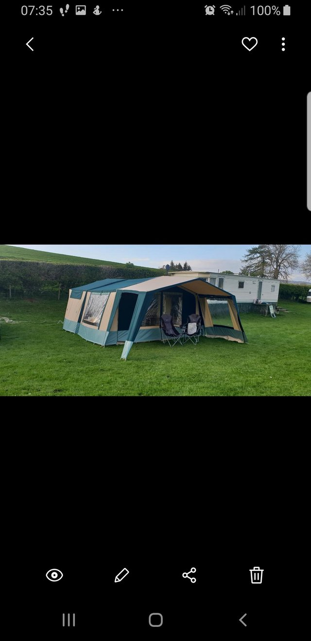 Image 3 of Conway trailer tent x everything you need to just hook up an