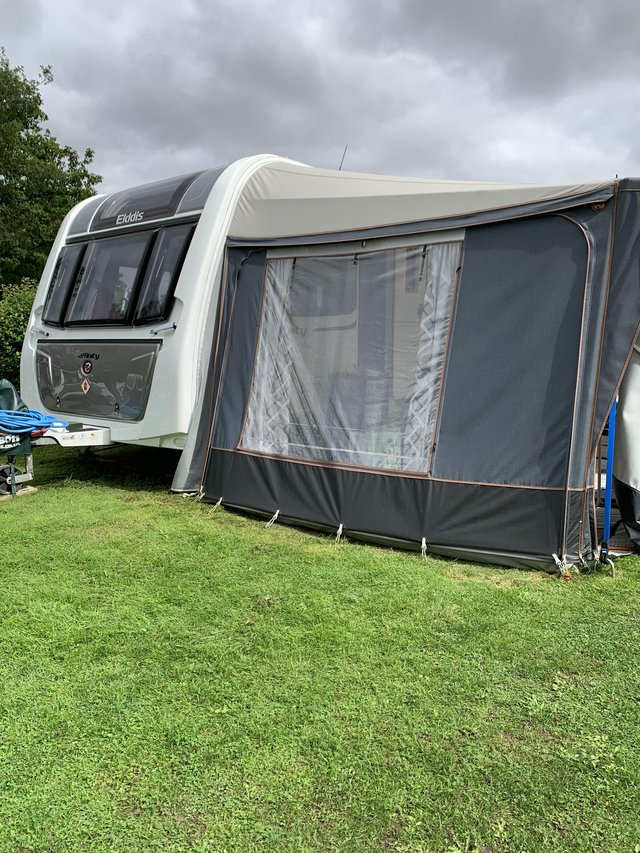 Preview of the first image of Elddis Affinity 574 4 berth caravan.