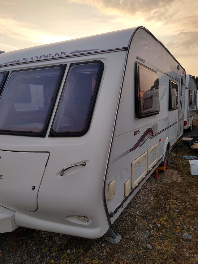 Preview of the first image of Compass rambler, touring caravan 2007.