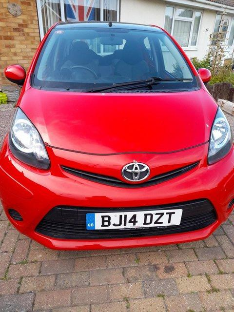 Preview of the first image of Toyota Aygo Move 2014 Sat Nav MOT Dec.