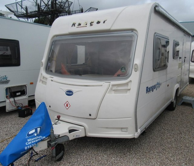 Preview of the first image of BAILEY RANGER 500/5 2008 5 BERTH CARAVAN *DOUBLE DINETTE*.