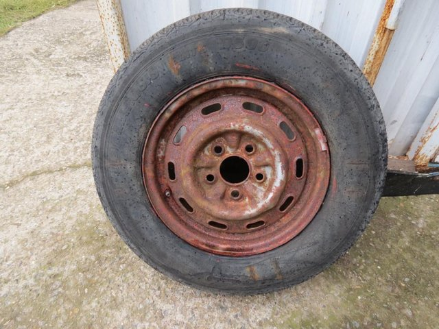 Preview of the first image of 14 inch Caravan / trailer spare wheel & tyre.